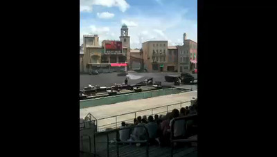 """We mentioned some of the shows earlier that take place in """"Hollywood Studios""""... definitely though, one of the best is the """"Lights, Camera & Action"""" stunt show that takes place there!!  Here's a little live Video footage of what to expect from this 30min show."""
