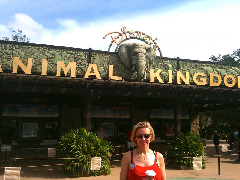 """For day 2 at Disneyworld we visited one of our favorite parks, """"Animal Kingdom""""."""