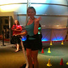 "Looks like Nancy had a little fun riding a ""Segway"" at Innoventions while in Epcot. :-)"