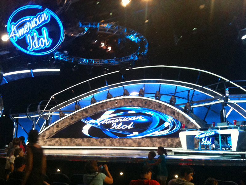 """Besides having great rides in Hollywood Studios, they also have great shows there like Indiana Jones, Beauty & the Beast and one of their most recent additions, the """"American Idol Experience""""... fun! :-)"""