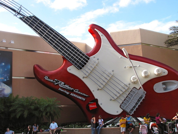 "There's Aerosmith's ""Rockin Roller-coaster""... definitely one of the fastest rides we've ever been on!!"