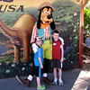 "There's the boys meeting ""Goofy"". :-)"