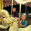 Looks like Shawn is loving the Carousel!! :-)