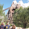 "There's ""Expedition Everest""... Walt Disney World's biggest ""Mountain""... and it has a roller-coaster running through it. Nancy usually has a tough time getting Shawn to ride this once but little Richard & Johnnie made him do it 3 times! :-)"