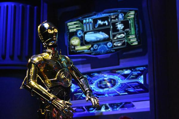 C3PO Preparing Star Tours Launch