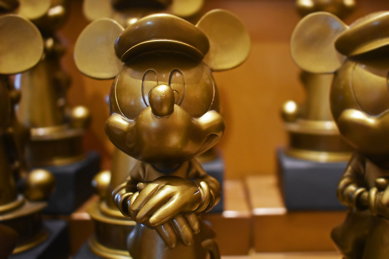 Mickey Mouse Award Statues