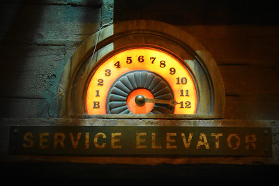Service Elevator in the Tower of Terror