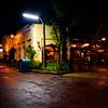 NIghttime Streetscape in Harambe, Animal Kingdom