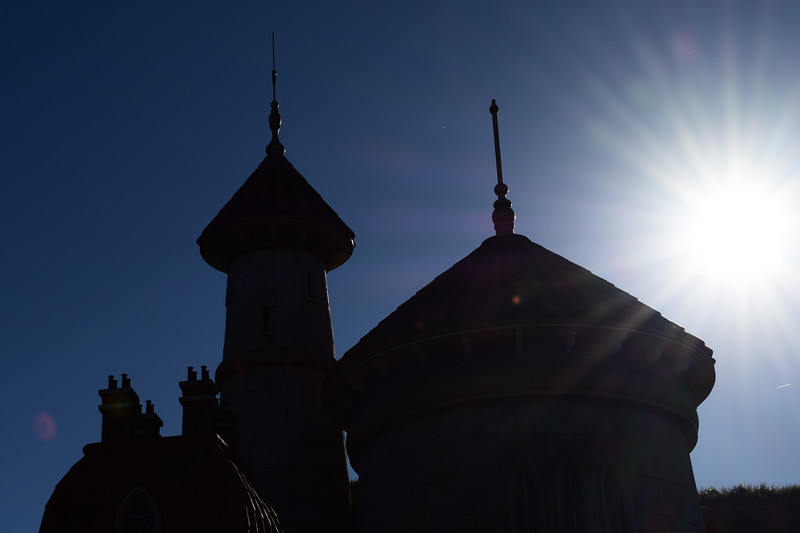 Prince Eric's Castle Silhouette