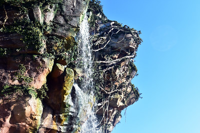 Water Falling from the Floating Mountains