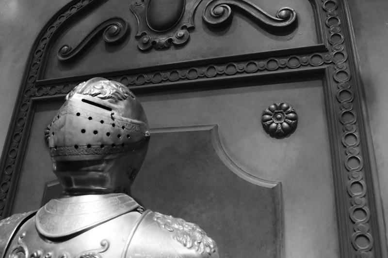 Armor in Beast's Castle