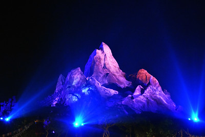 Expedtion Everest at Night