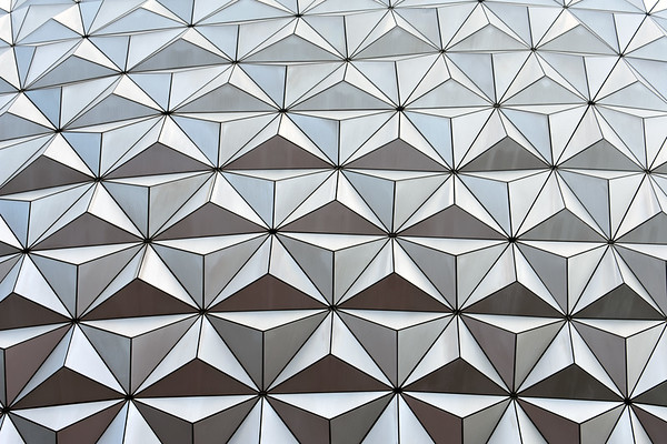 Spaceship Earth Close Up