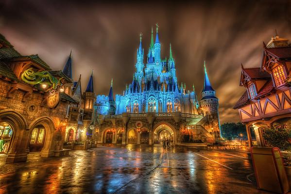 A Rainy Night in the Magic Kingdom