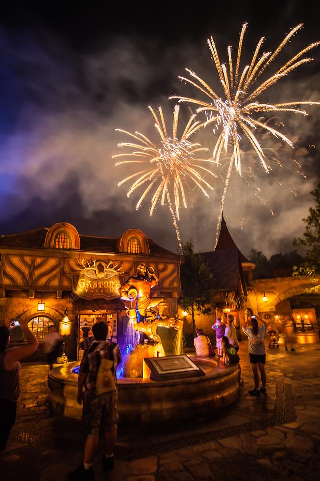 Fireworks for Gaston
