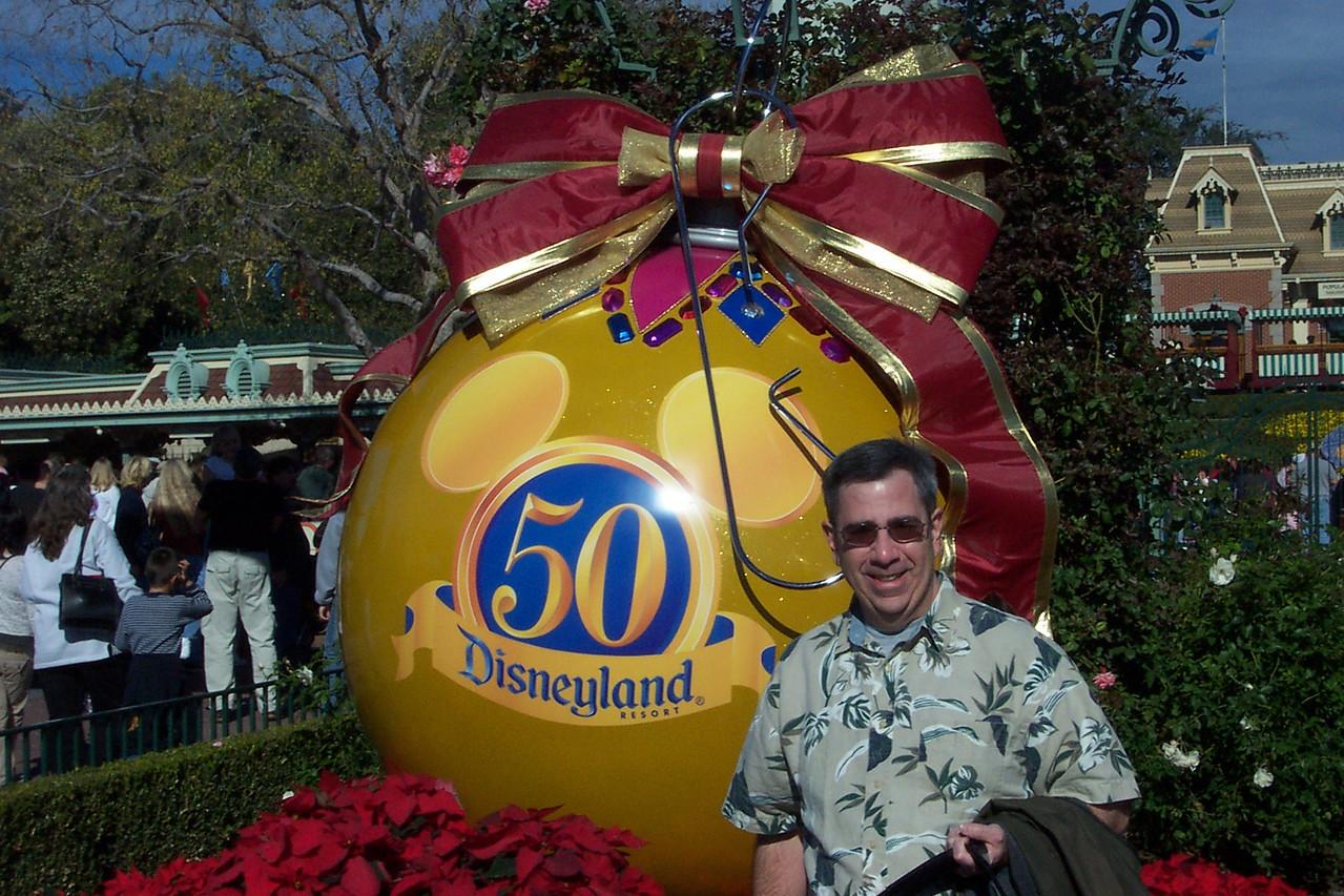 Disneyland entrance