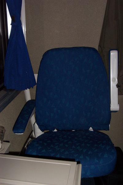 Aboard Amtrak's Coast Starlight train