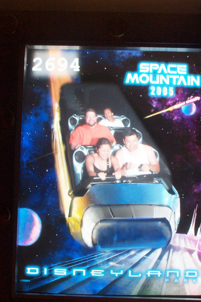 Disneyland - Space Mountain