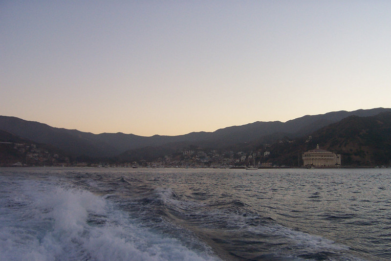 Leaving Catalina Island