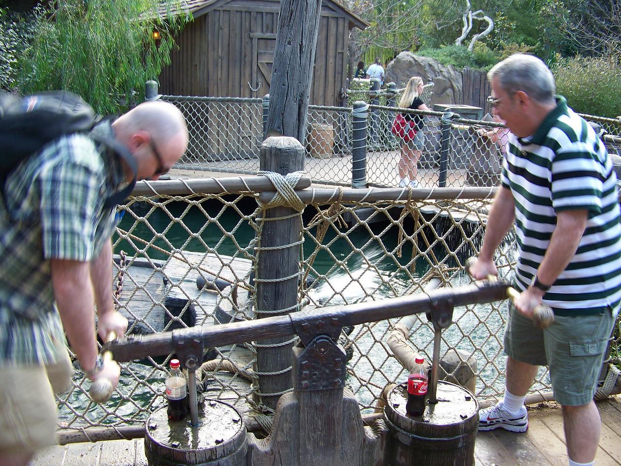 Disneyland - Tom Sawyer Island