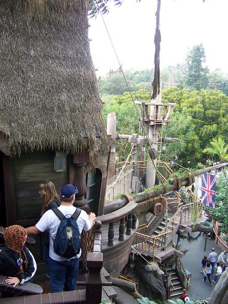 Disneyland - Tarzan's Treehouse