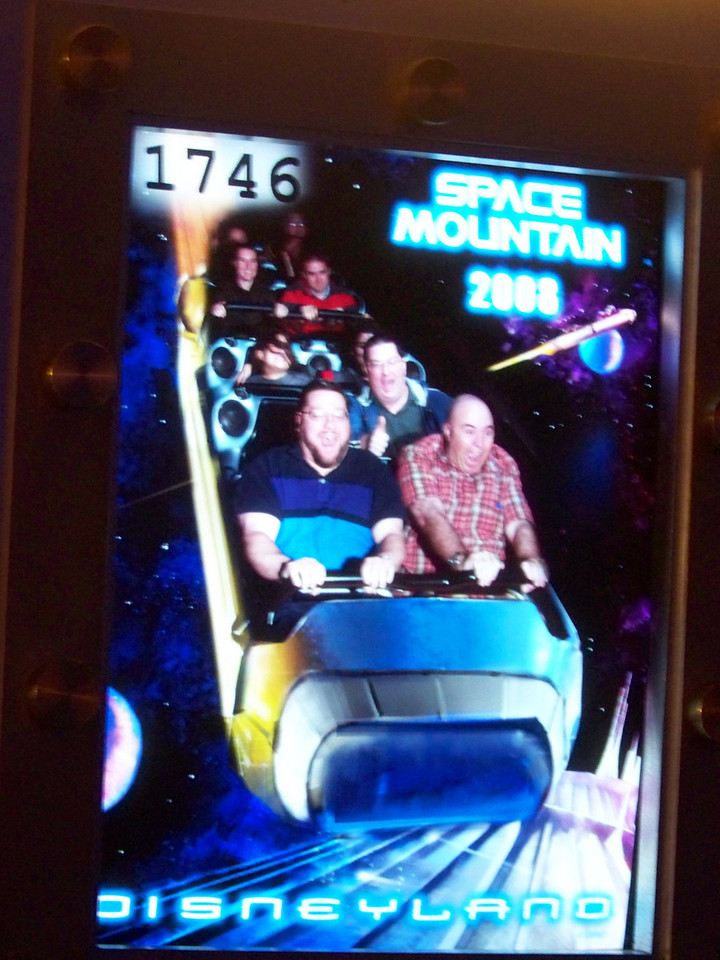 Disneyland - Space Mountain