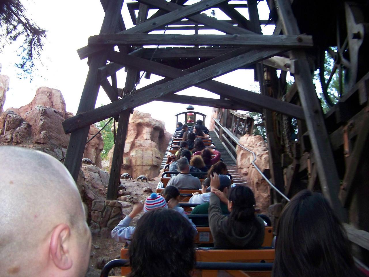 Disneyland - Big Thunder Mountain