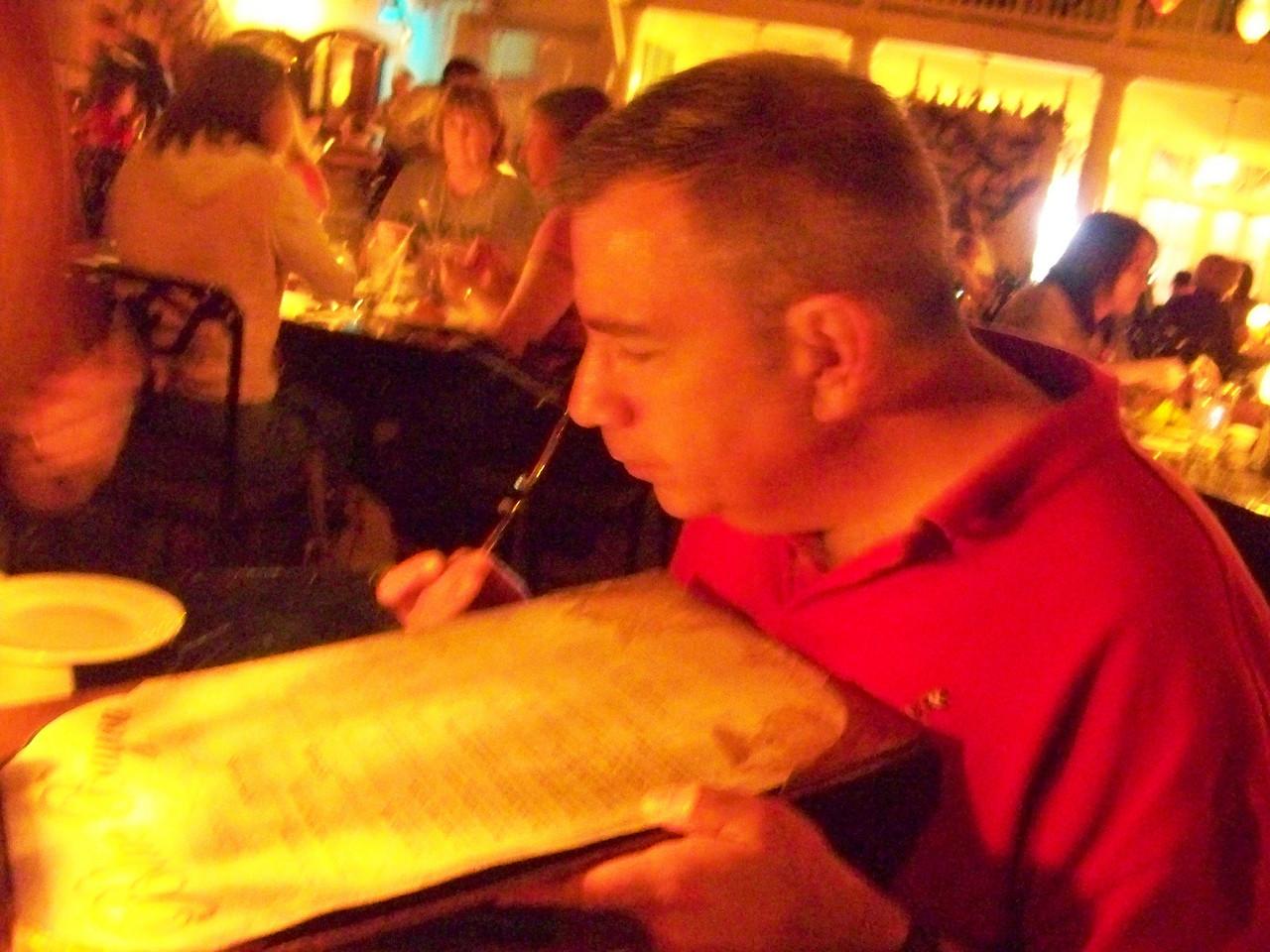 Disneyland - Blue Bayou Restaurant
