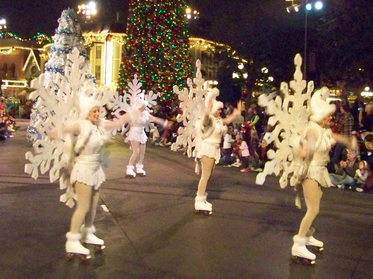Disneyland - A Christmas Fantasy parade