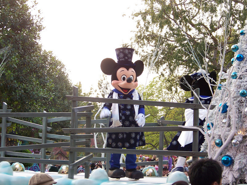 Disneyland - A Christmas Fantasy parade