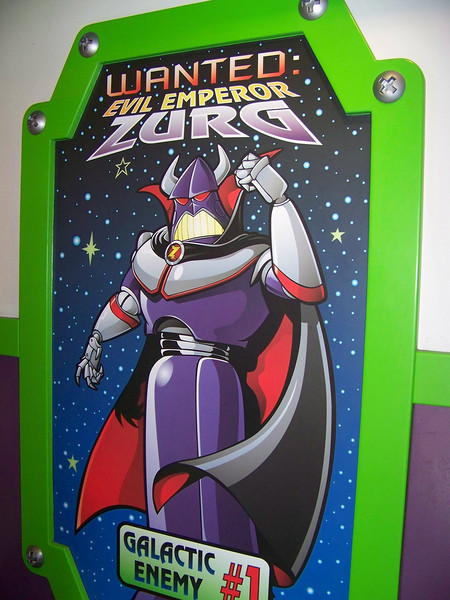 Disneyland - Tomorrowland - Buzz Lightyear Astro Blasters