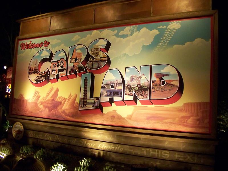 Disney California Adventure - Cars Land