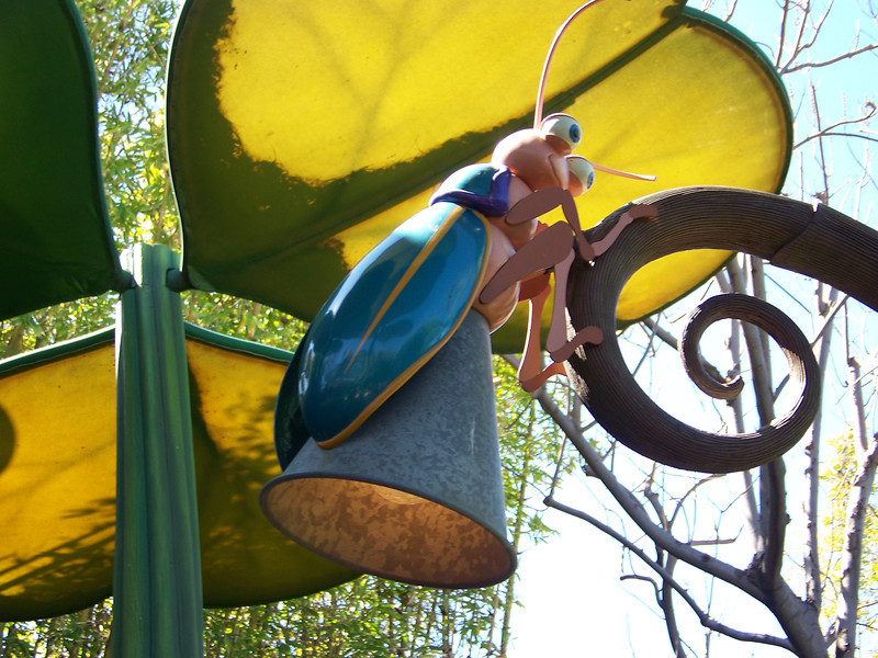 Disney California Adventure - A Bug's Land