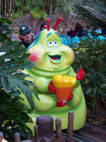 Disney California Adventure - Heimlich's Chew Chew Train