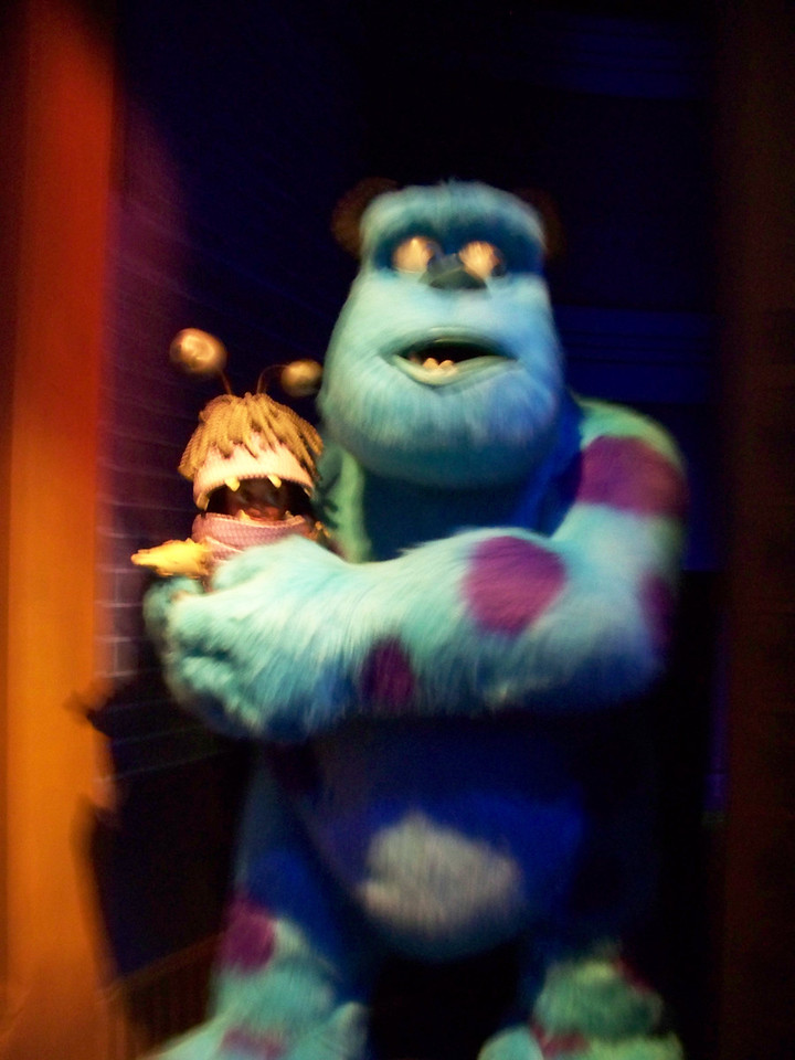 Disney California Adventure - Monsters Inc: Mike and Sulley to the Rescue!