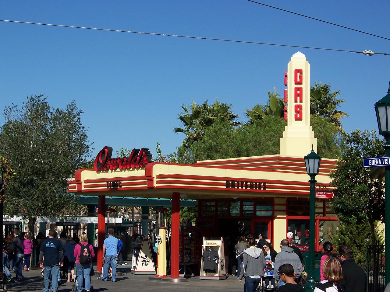 Disney California Adventure - Buena Vista Street