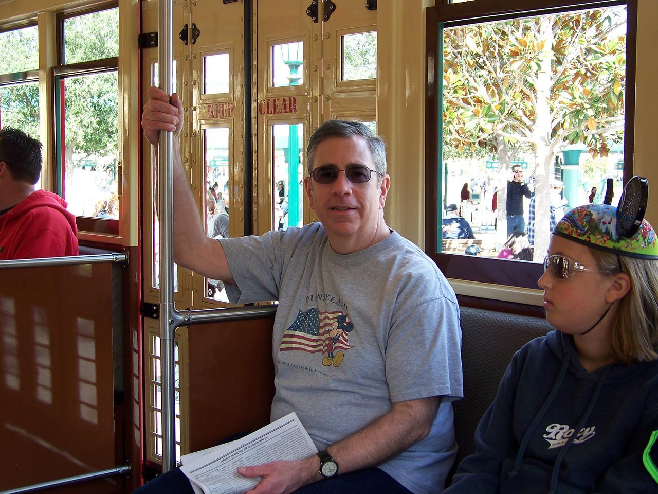 Disney California Adventure - Red Car Trolley