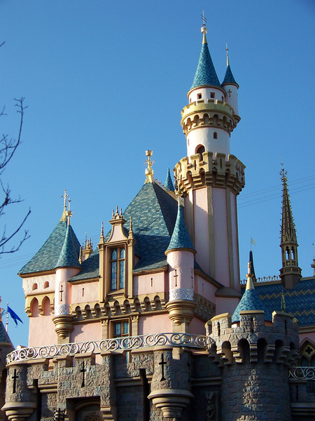 Disneyland - Sleeping Beauty Castle