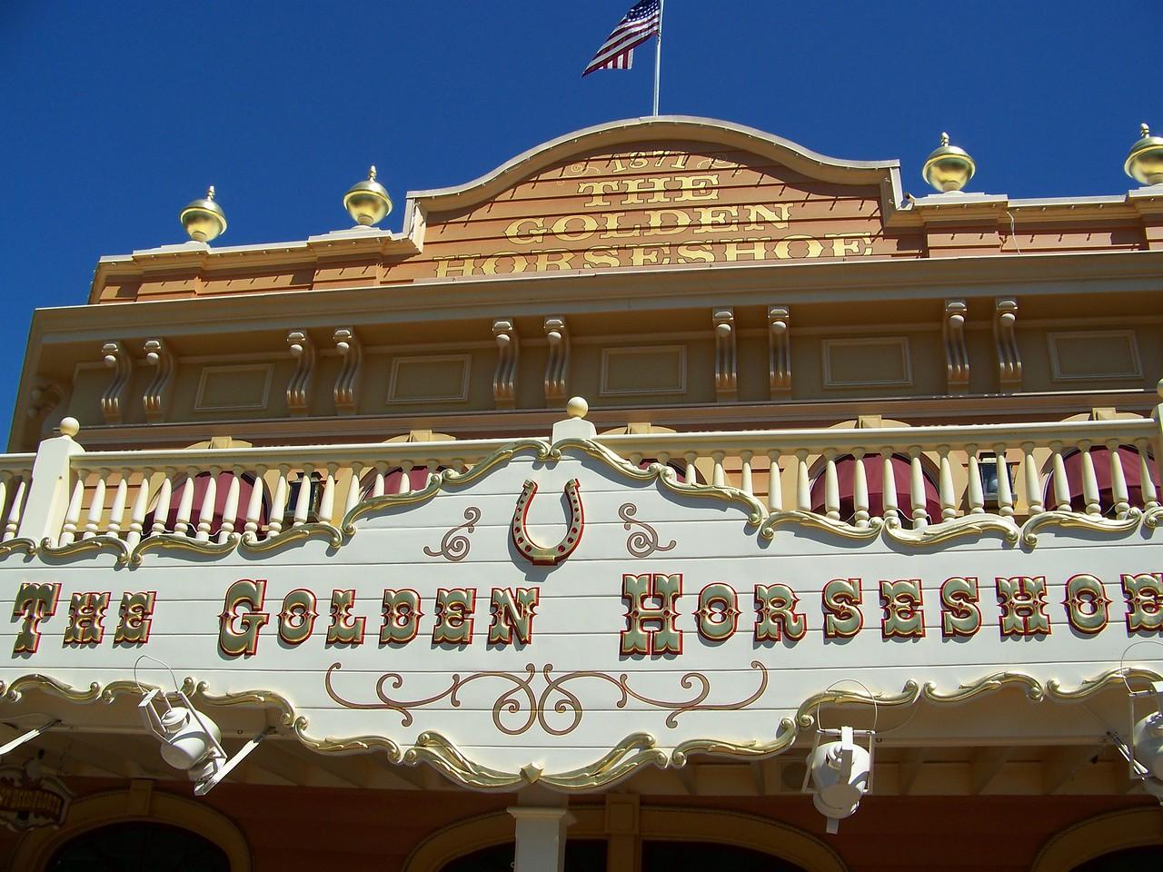Disneyland - The Golden Horseshoe