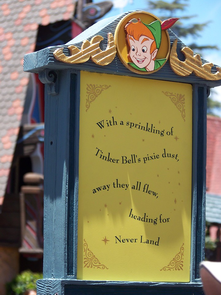Disneyland - Peter Pan's Flight