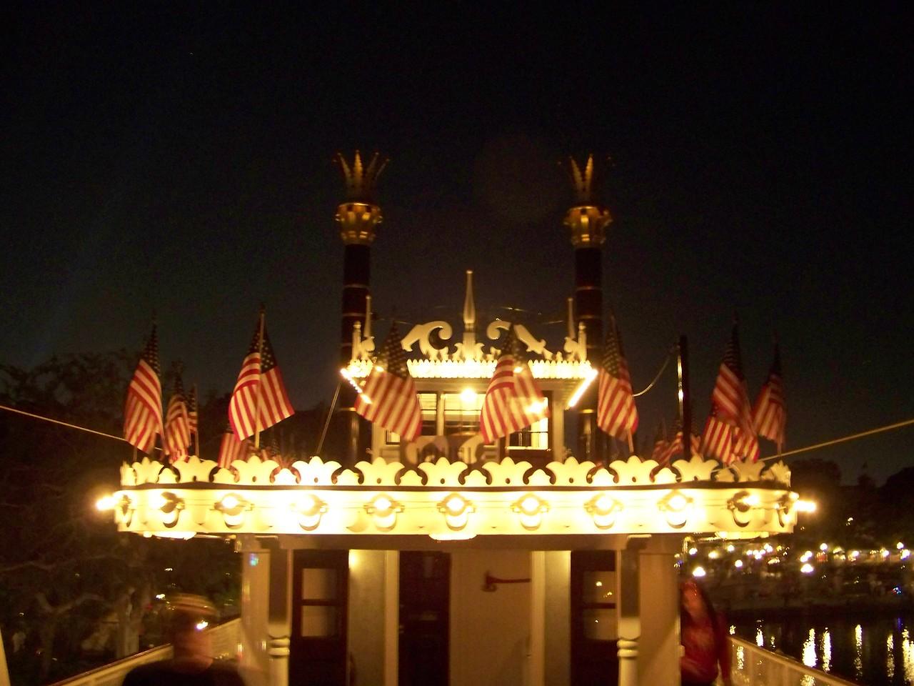Disneyland - Mark Twain Riverboat