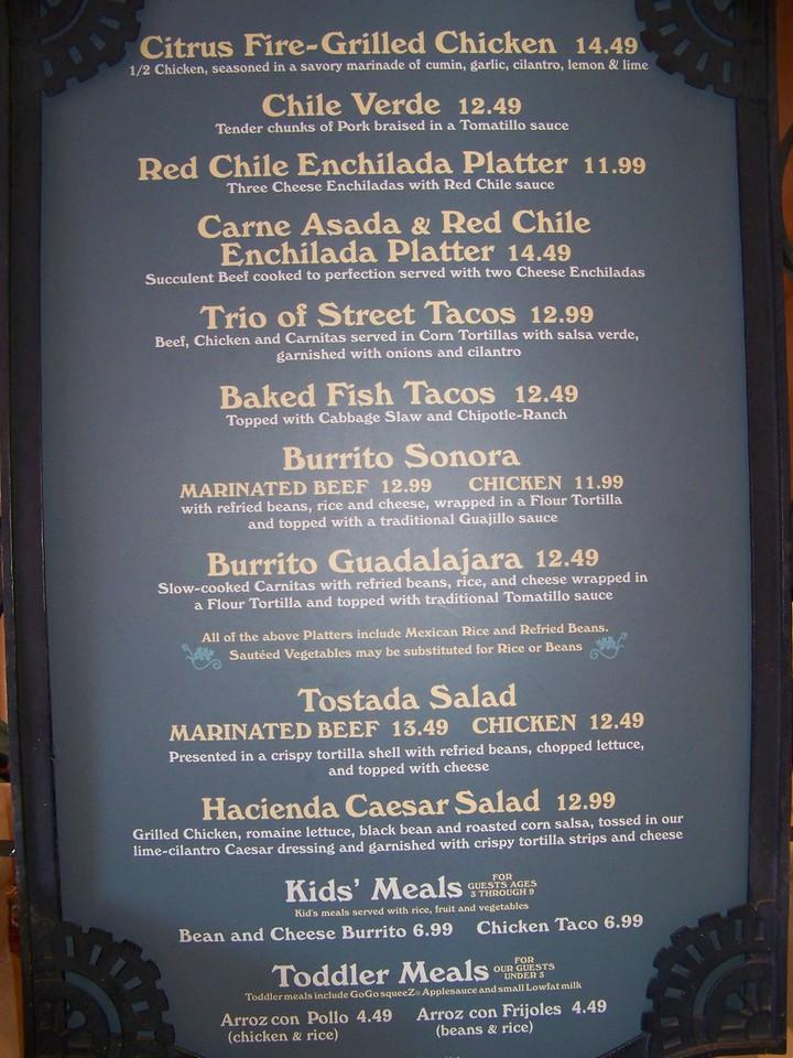 Disneyland - Rancho del Zocalo Restaurante