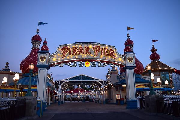 Disneyland Pixar Pier June 2018