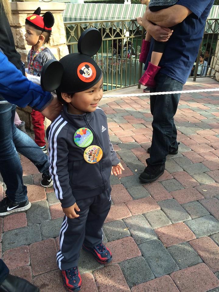 Dominic in line!