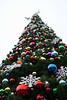 Christmas tree at Disney's California Adventure