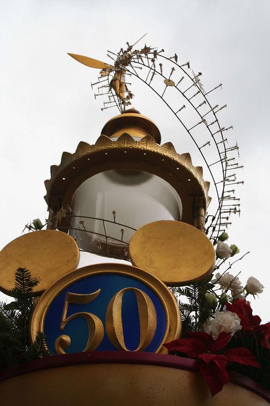 50th lamppost