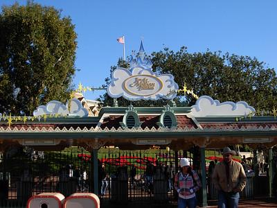 Disneyland December 9th, 2007