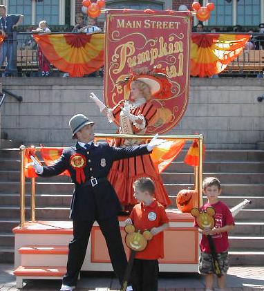 The Pumpkin Festival, Main Street Saturday.