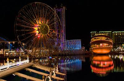 California Advernture Park - Night Scene
