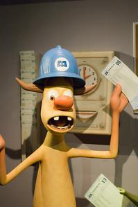 2007-11-14 - 213 - Disneyland Birthday - Monsters Inc (Clocking In) - _DSC9248